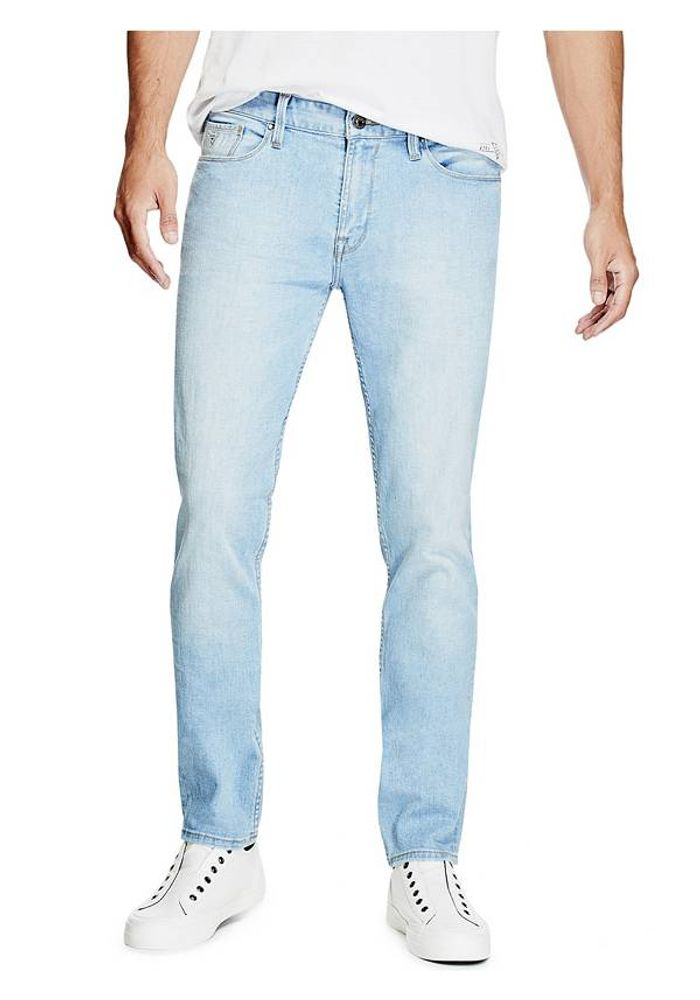3546e04167 JEANS GUESS SLIM TAPERED SEFH DENIM-CELESTE - GUESS - Guess Chile
