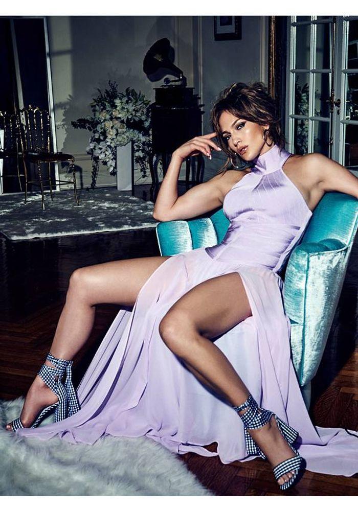 Vestido Jennifer Lopez Aaliyah Bandage Gown G468 Lila