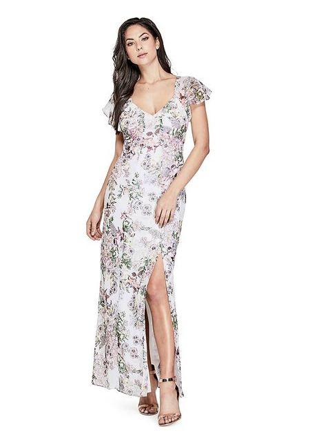 6df0043c4 VESTIDOS GUESS SS LOYOLA MAXI DRESS P0N0 FLOREADO - Guess Chile