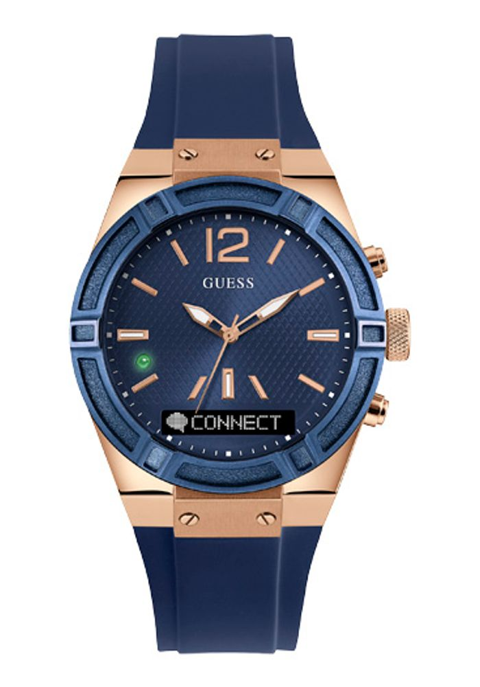 bce0f4b220f0 RELOJ GUESS CONNECT BLUE AZUL TUC0002M1 - Guess Chile - Guess Chile