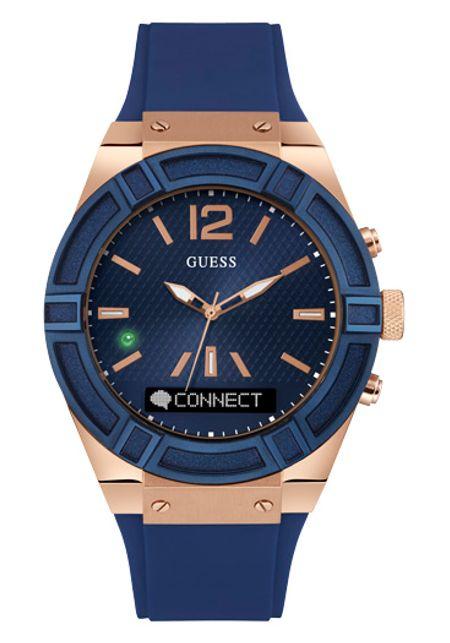 Tuc0001g1 Connect Blue Guess Reloj Azul 80XNkOnwZP