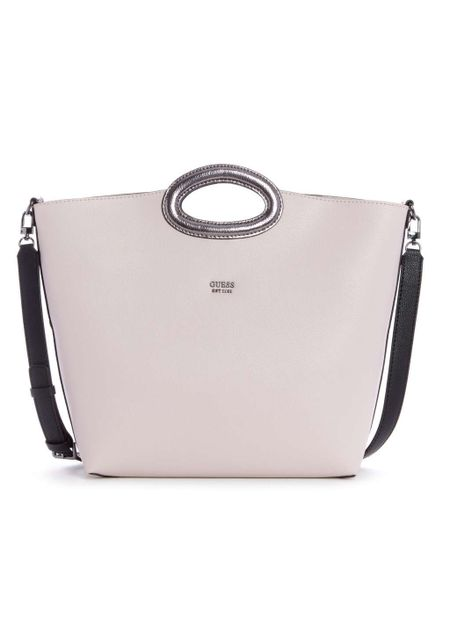 b333137ba Ripley - Bolsos y carteras. CARTERA GUESS DIGITAL CUT OUT TOTE SML CREMA - Guess  Chile