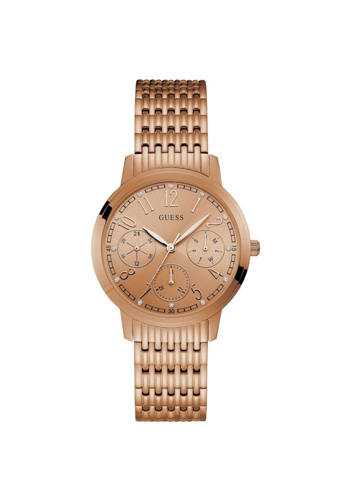 baratas para descuento 4c2f1 1095e RELOJ GUESS LATTICE ROSE ORO ROSA TU