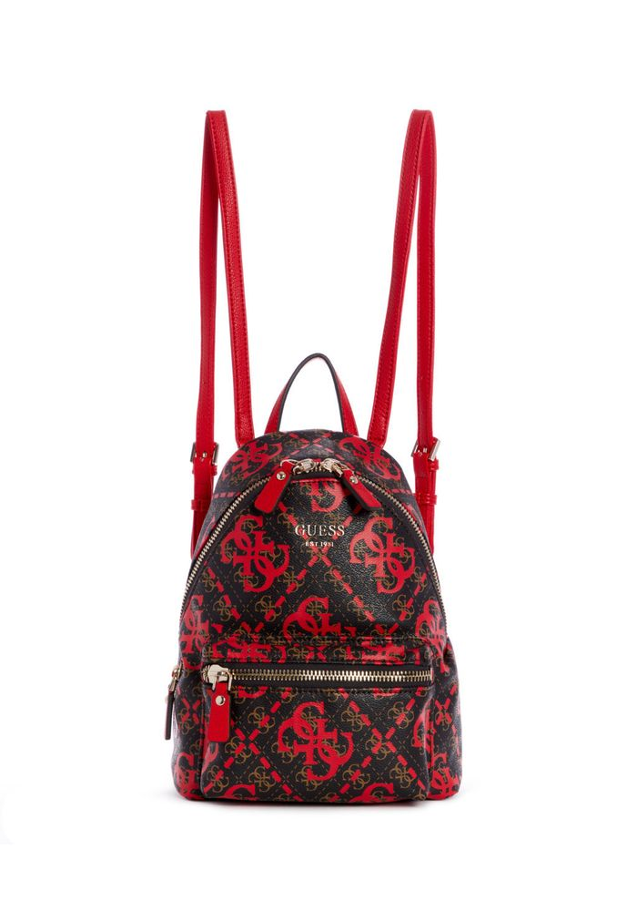 Tu Mochila Backpack Rojo Leeza Guess Rml 0OmnN8vw