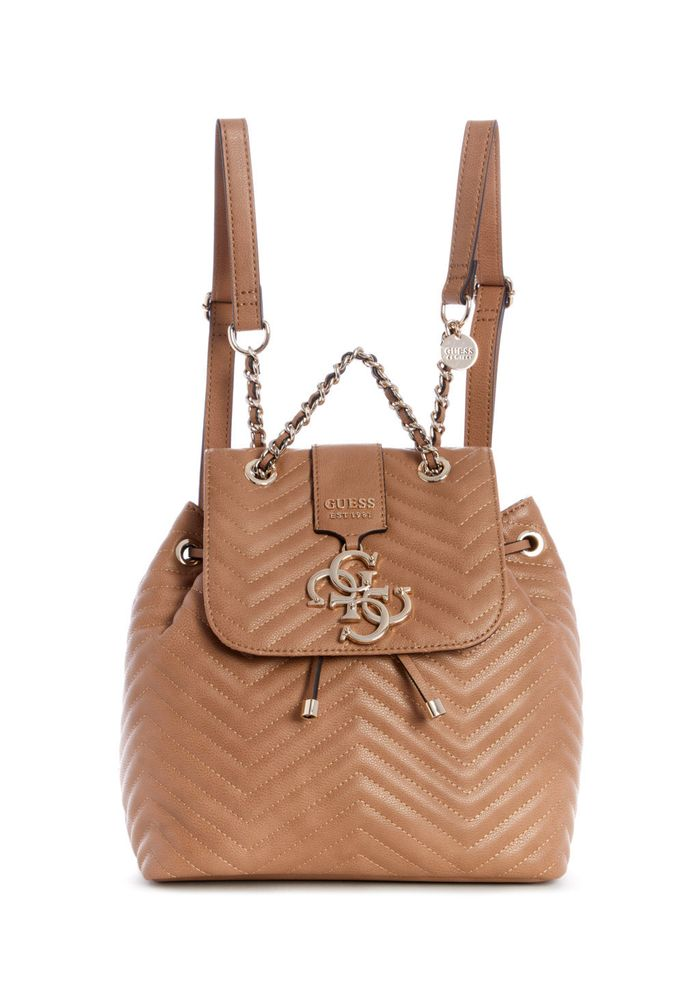 9921096df MOCHILA GUESS VIOLET BACKPACK TAN CAFE - Guess Chile