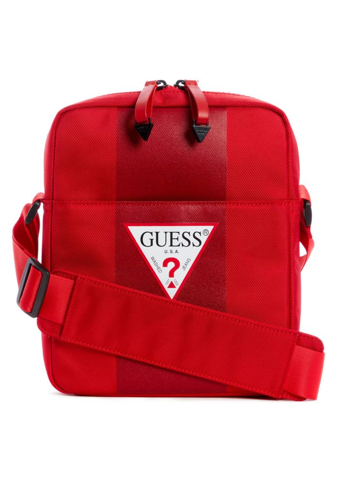 Bolso Guess Red Mini Rojo Tu Crossbody Central kXZPuOi