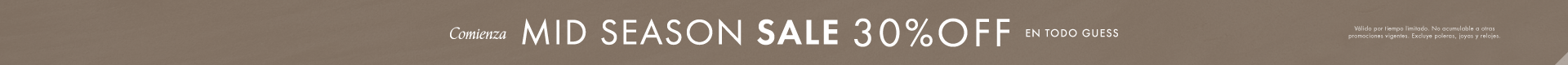 Mid Season Sale | Guess Chile